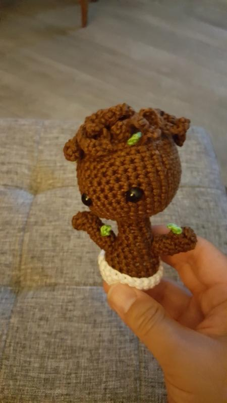 Baby groot terminé